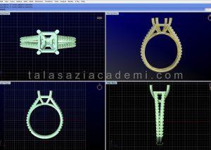 آموزش نرم افزار طراحی جواهر