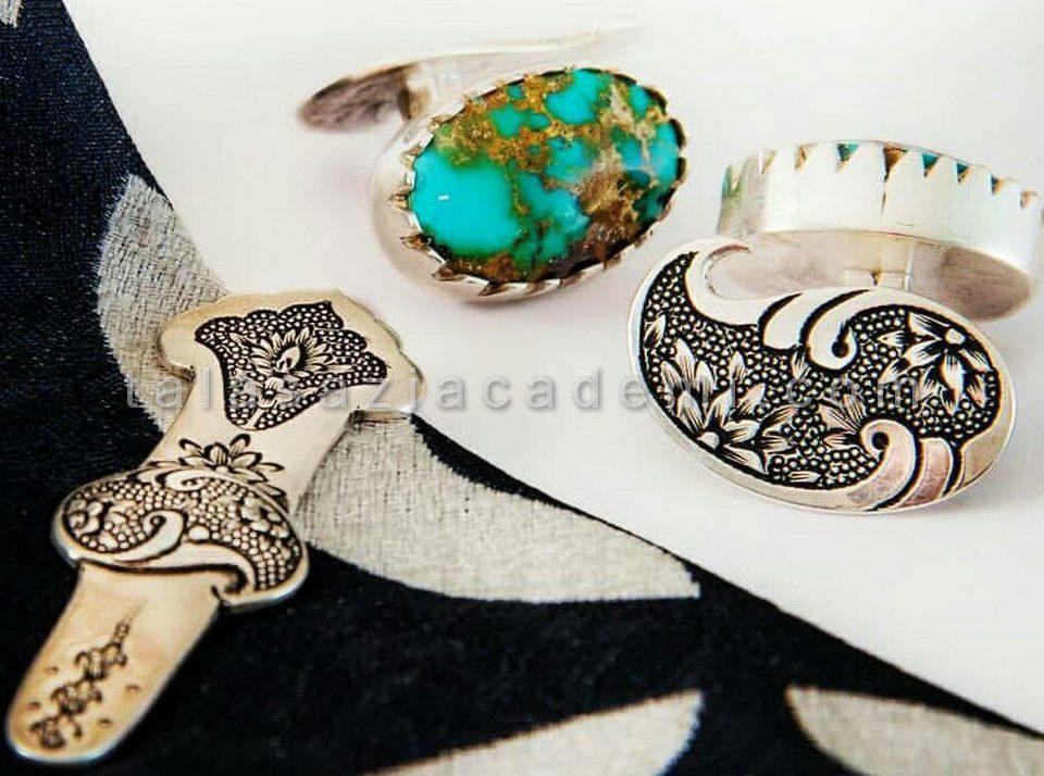 میناکاری روی طلا و جواهر