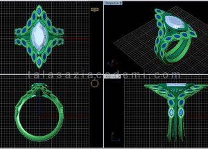 نرم افزار ماتریکس در طراحی طلا و جواهر